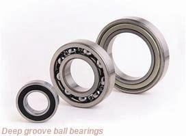9,525 mm x 22,225 mm x 24,613 mm  skf D/W R6 R Deep groove ball bearings