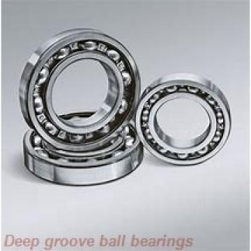 12 mm x 24 mm x 6 mm  skf W 61901 R-2RZ Deep groove ball bearings