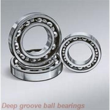 25 mm x 47 mm x 12 mm  skf W 6005-2RZ Deep groove ball bearings