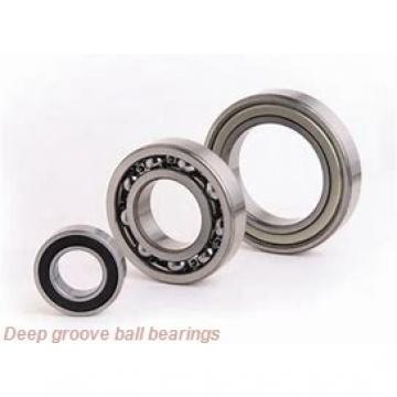 6,35 mm x 19,05 mm x 7,142 mm  skf D/W R4A-2Z Deep groove ball bearings