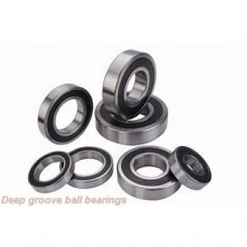 7 mm x 14 mm x 5 mm  skf W 628/7-2RZ Deep groove ball bearings