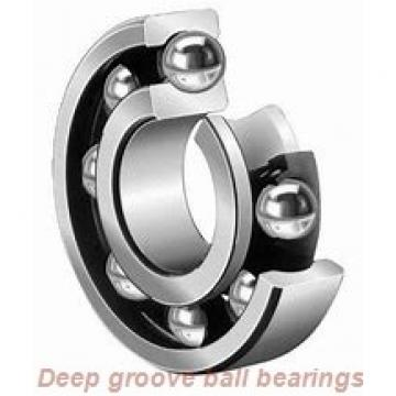 12 mm x 21 mm x 7 mm  skf W 63801 R Deep groove ball bearings