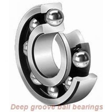 35 mm x 72 mm x 17 mm  skf W 6207-2Z Deep groove ball bearings