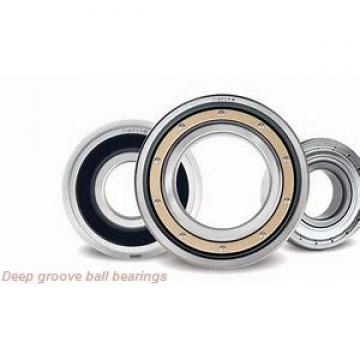 2 mm x 5 mm x 2.5 mm  skf W 638/2 XR-2Z Deep groove ball bearings